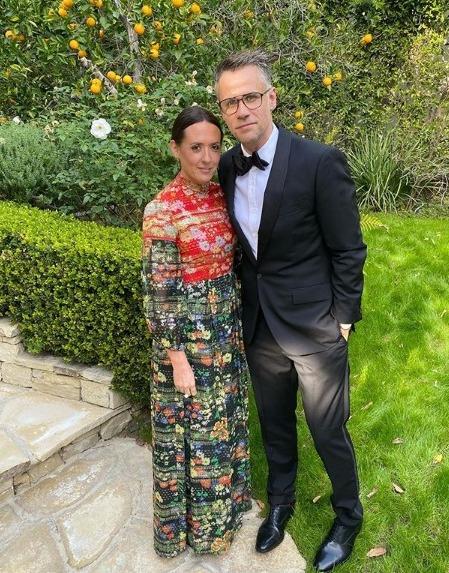 Richard's wife Rebecca says LA is like a cartoon world and Ariana Grande's house overlooks theirs