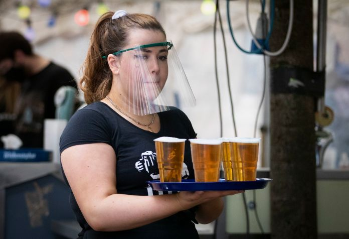 Pubs across the nation have already introduced measures including PPE and social distancing