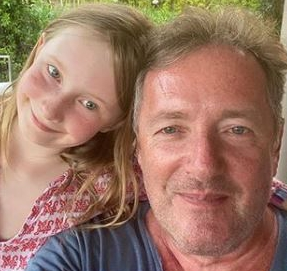 Elise is his daughter with wife Celia Walden