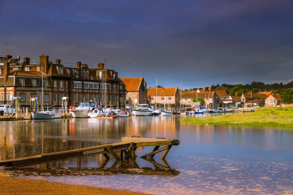 There are quaint villages and bustling cities in Norfolk