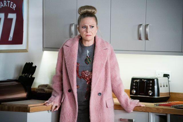 Kellie plays Linda in EastEnders