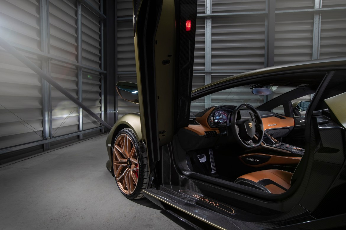 The £2.5m, 217mph Sian uses what's called a supercapacitor