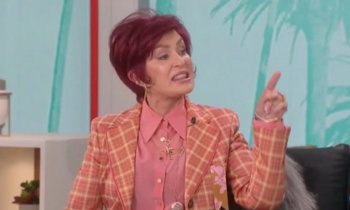 Sharon quit The Talk after getting embroiled in a row with her co-star while defending Piers