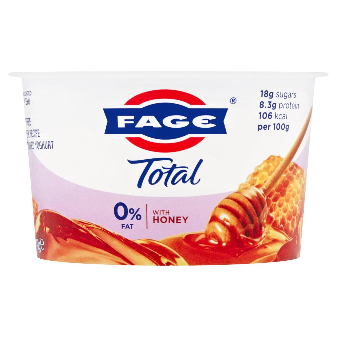 Fage Total Greek yoghurt split pots with honey are just 55p at Sainsbury's