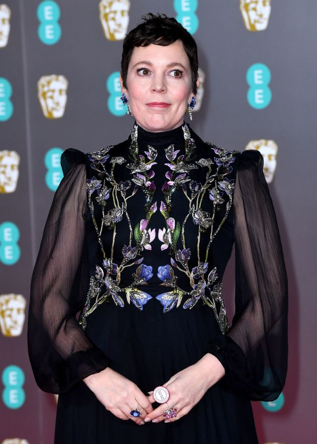 Olivia Colman is one of many Brits hopefuls lined up for glory