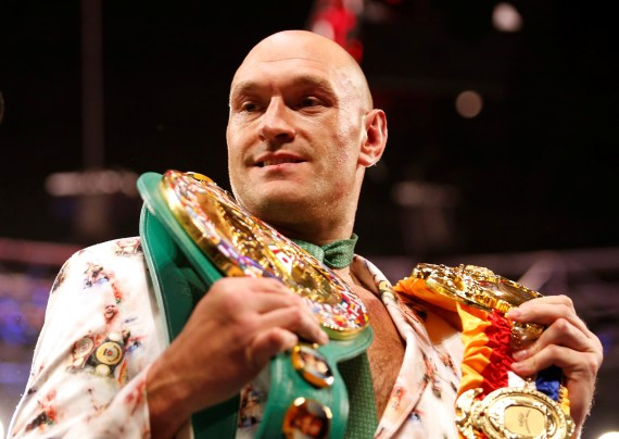 British champ Fury holds the WBC belt - the only main title Ruiz Jr is yet to win