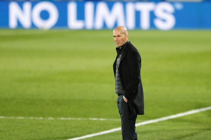 Zinedine Zidane is in the market for a new striker at Real Madrid