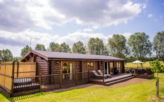 The cabins have space for up to four guests