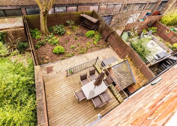 And the home has a sun-trap south-facing garden