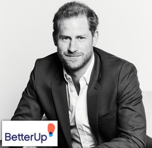 Prince Harry has taken up a role at BetterUp in the US