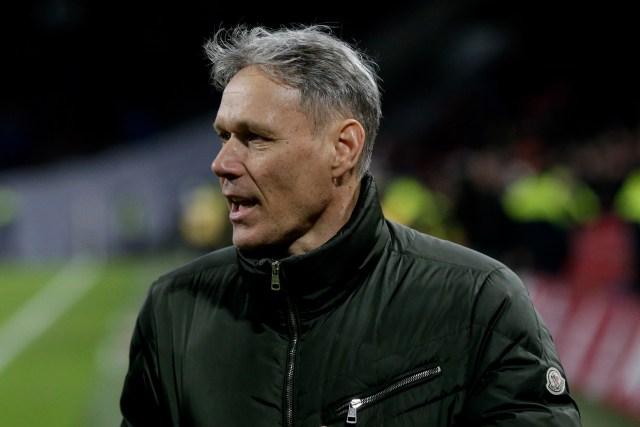 Marco van Basten wants to bin the offside rule