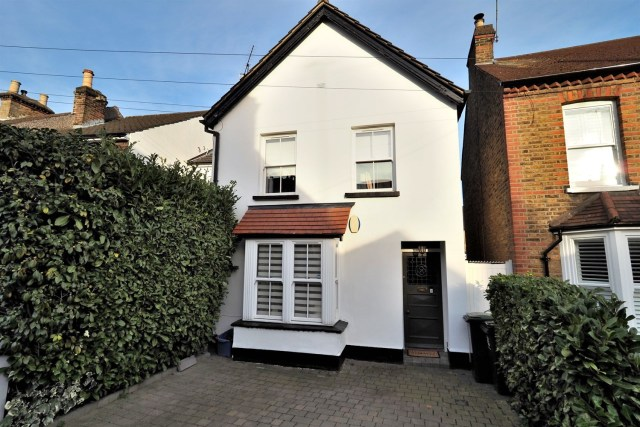 The white fronted Victorian property is in Loughton, Essex