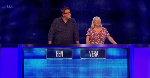 Ben and Vera managed to clock up 18 answers on the final chase