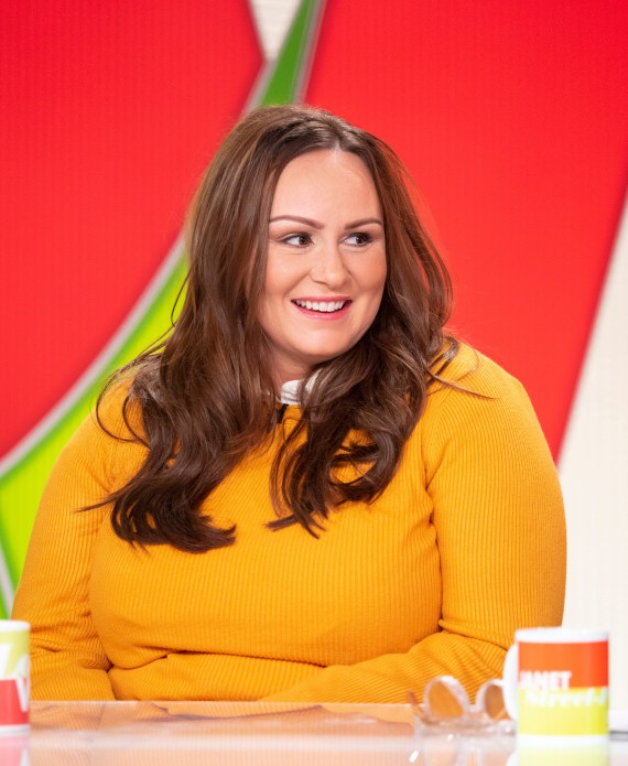 Chanelle said she turned down jobs and hid from friends as a result of her weight gain