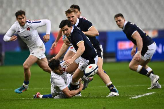 France were beaten by Scotland in a result that crowned Wales Six Nations winners
