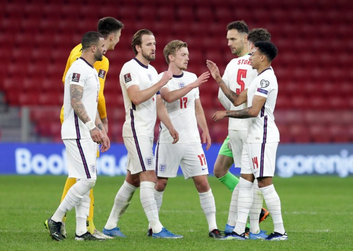 England take on Poland in the final World Cup qualifier of the international break