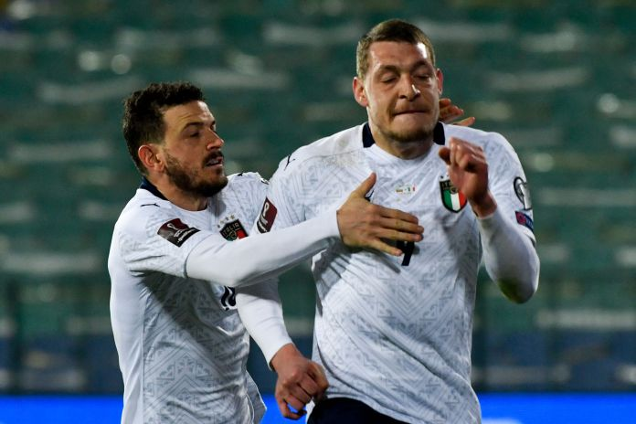 Andrea Belotti was on target as Italy recorded a routine win