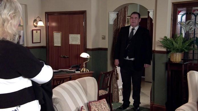 Todd convinces Eileen to invite George over