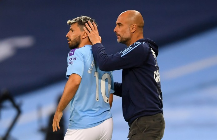 Pep Guardiola will wave goodbye to his Argentine No10