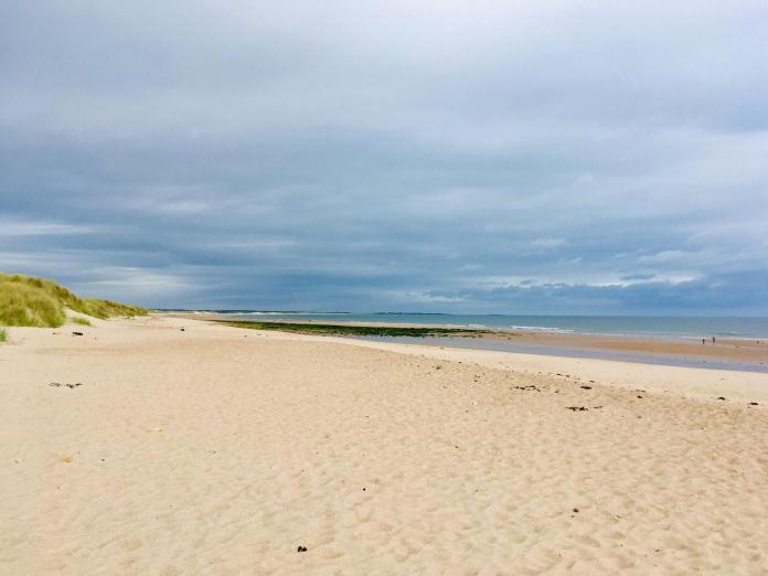 Dog-friendly Warkworth Beach is less than a mile from the historic medieval village of Warkworth