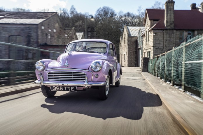 A Morris Minor Million special edition from 1968