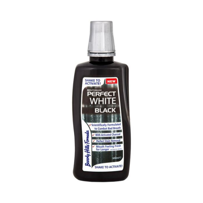 The mouthwash contains pyrophosphates to help remove surface and deep stains.