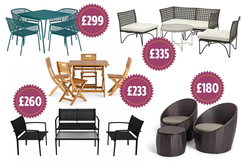 garden furniture deals 6 cheap but