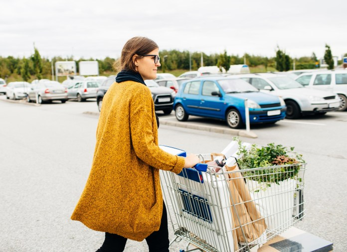 There's a simple reason why your trolley spins out of control in the car park