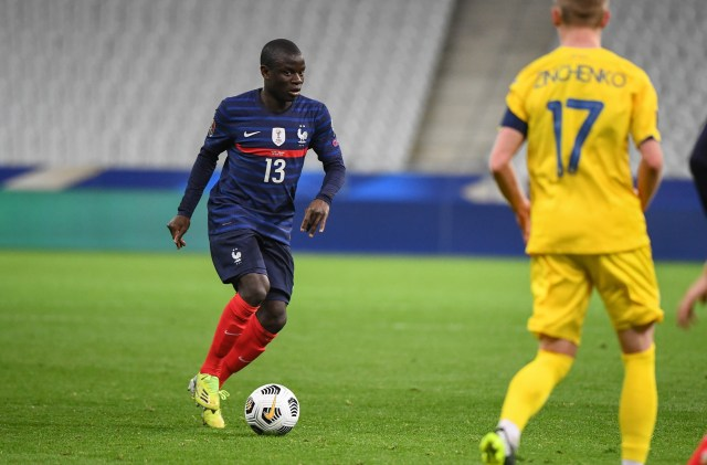 N'Golo Kante has suffered with injury problems this season