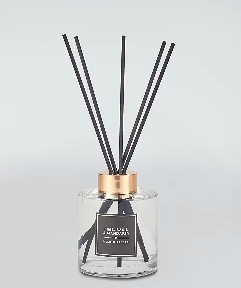 A Lime, Mandarin & Basil reed diffuser from George at Asda is £8