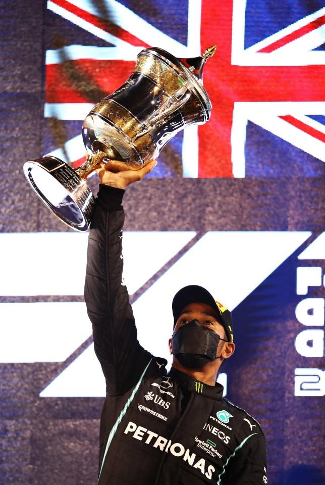 Lewis Hamilton won the opening race in Bahrain