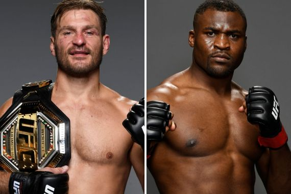 Stipe Miocic vs Francis Ngannou headlines UFC 260 in Las Vegas