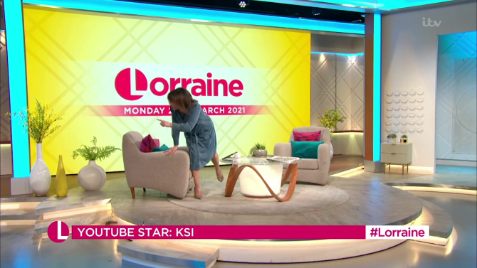 Even Lorraine got involved with the pranks