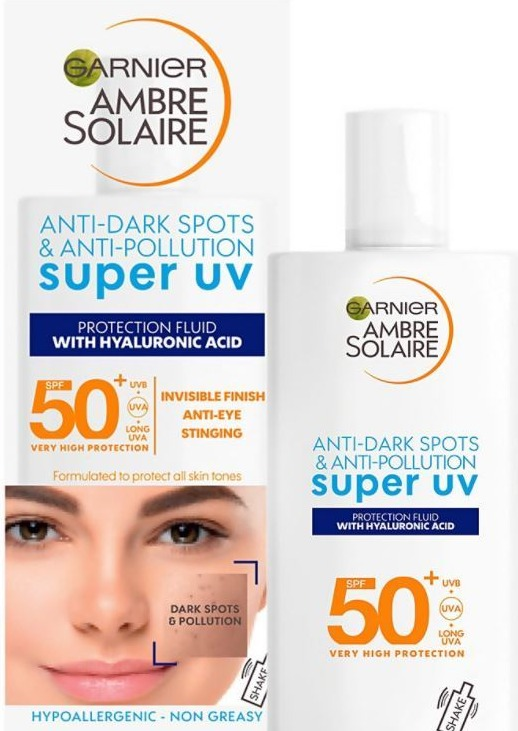 ...when you can get Garnier's Ambre Solaire Super UV Face Fluid for just £7