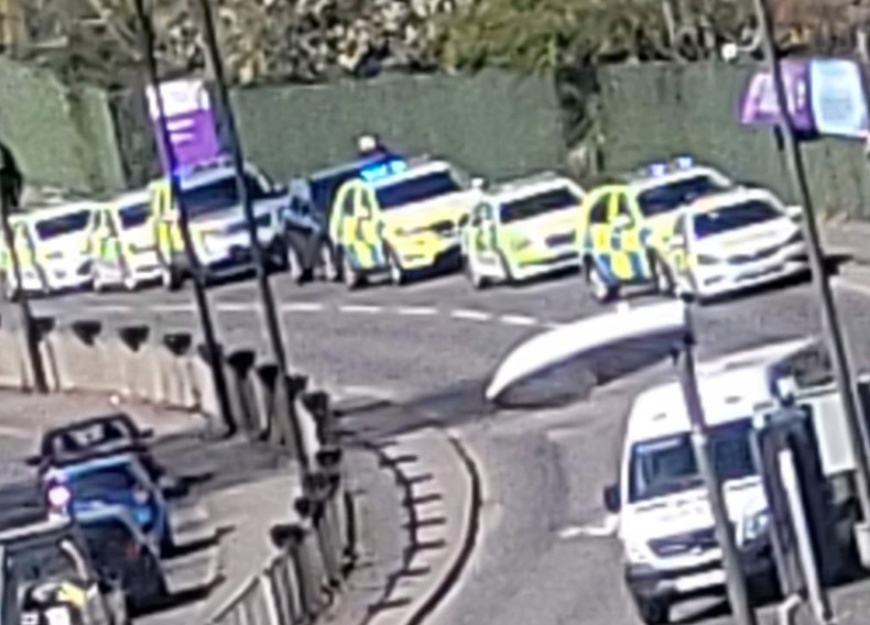 Two people have been injured following reports of a shooting near Crawley College