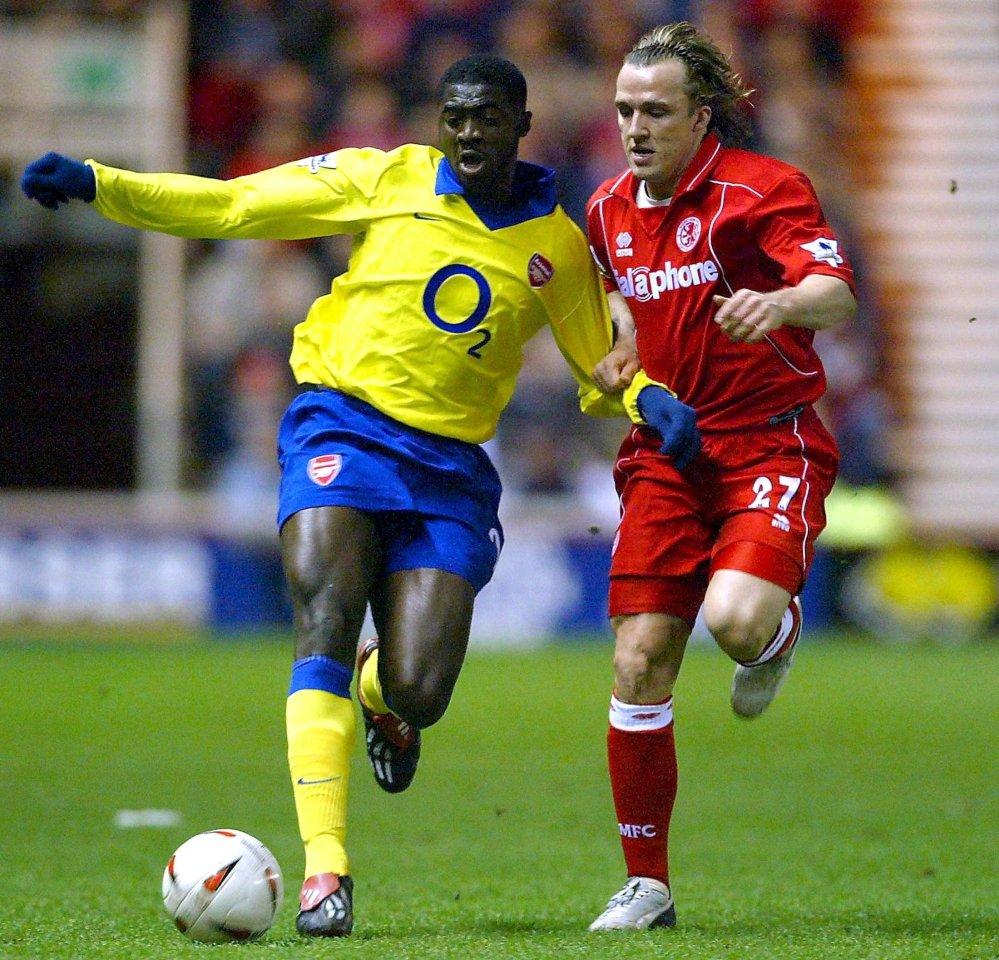 Kolo Toure enjoyed seven successful seasons with Arsenal