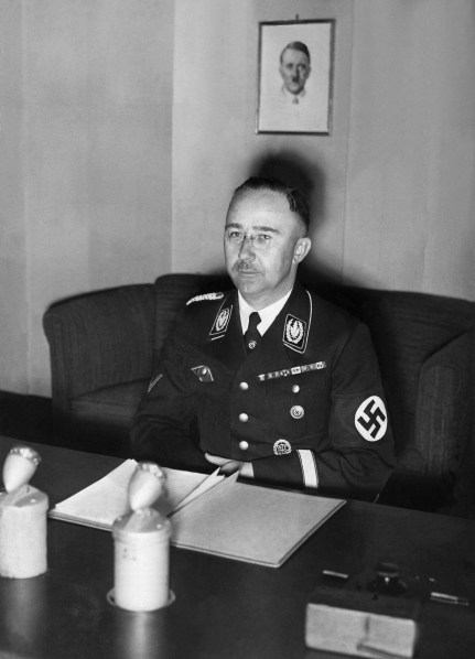 Chief of the Gestapo Heinrich Himmler ordered the seizure of the valuables towards the end of World War Two