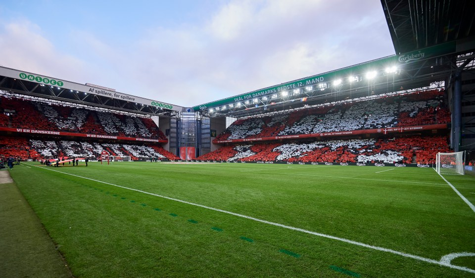 Copenhagen was the first city to announce it would host Euro 2020 games with fans