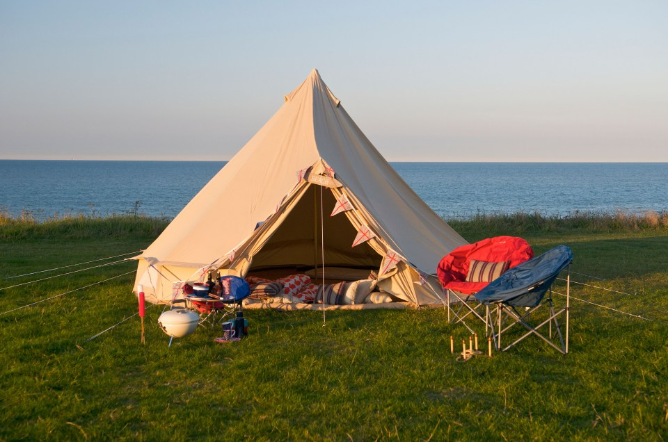 Extra pop-up glamping fields will dot the countryside to cope with demand, as eight in ten people will take staycations this summer
