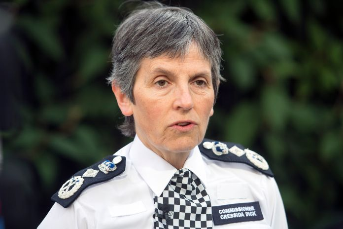 Cressida Dick is the Met's first female commissioner