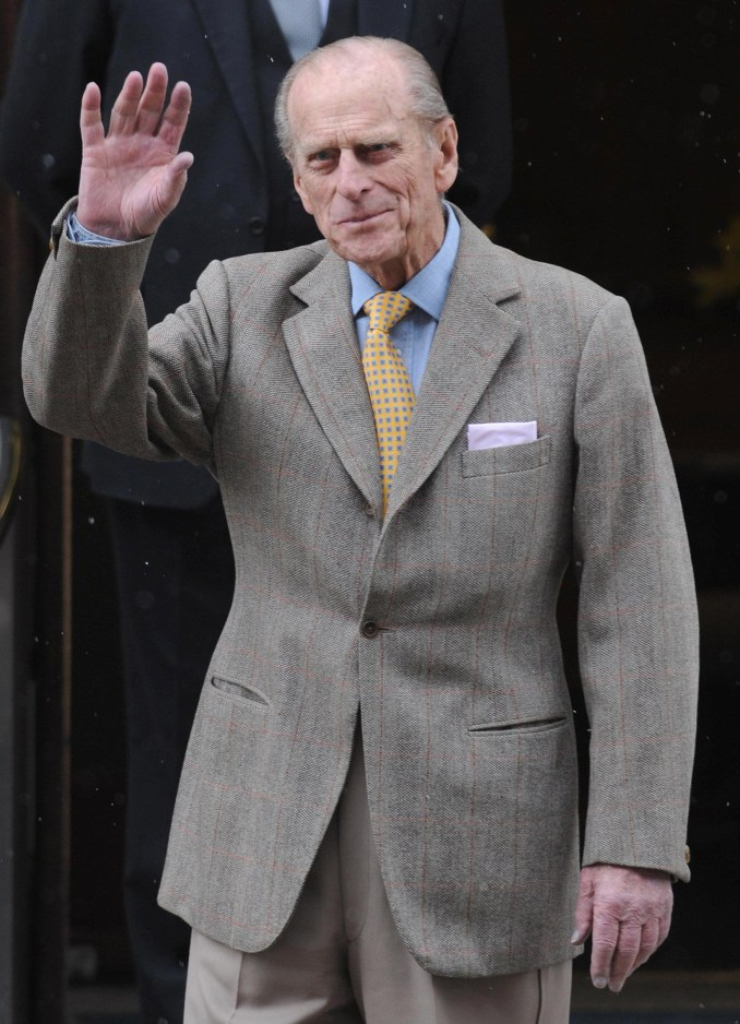 Details for the funeral were signed off by the Duke 'some years ago'