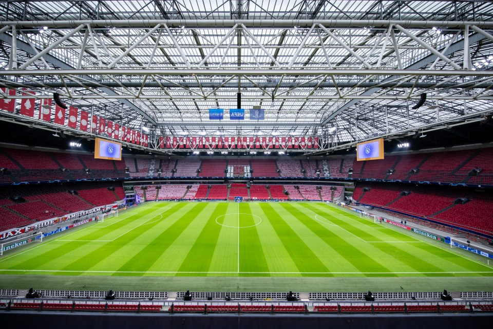 Amsterdam will be hosting all Holland's Euro 2020 group games
