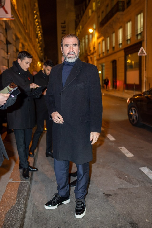 Footie ace Eric Cantona has been blasted for starring in a Chinese 'propaganda' film about Uighurs