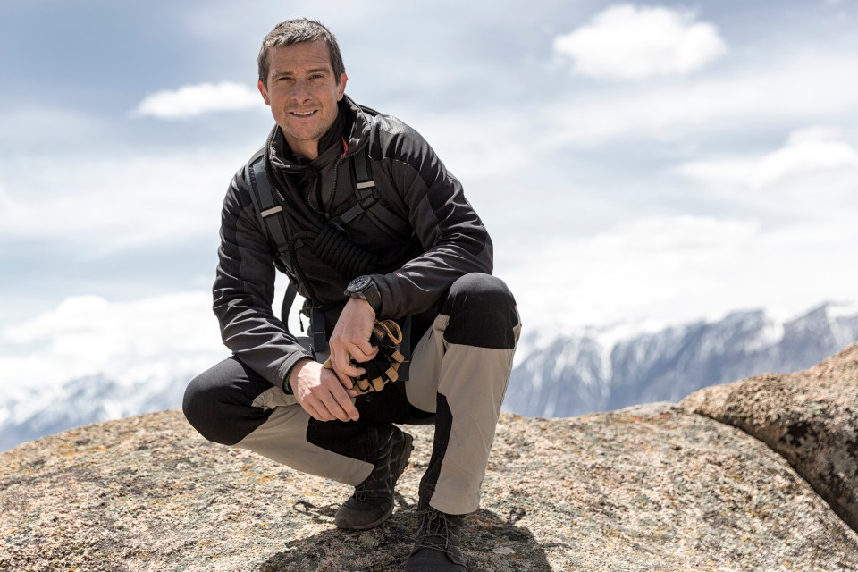 Bear Grylls wants YOU to get fit