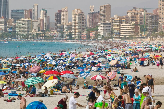 Millions of Britons could be deterred from traveling to Benidorm in Spain due to quarantine rules
