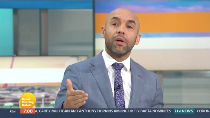 Alex Beresford clashed with Piers Morgan on GMB