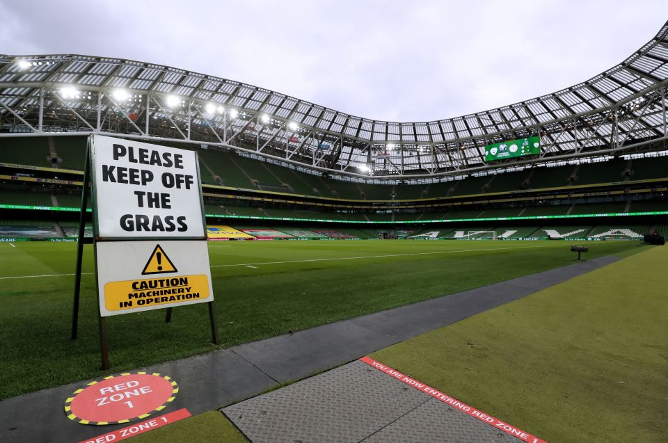 Dublin is the most likely city to miss out on hosting Euro 2020