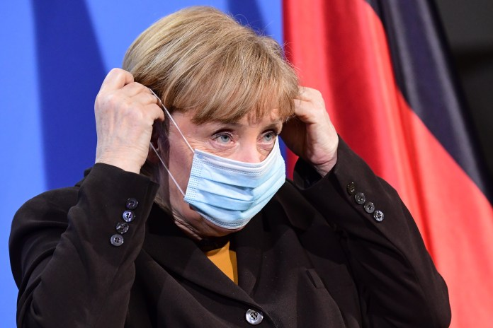 Angela Merkel this week suspended the AstraZeneca jab for younger people