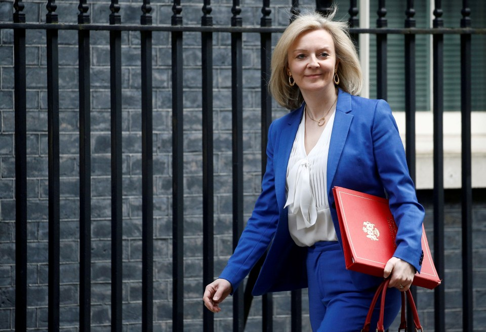 Trade boss Liz Truss said: 'The global appetite for our food is huge and growing'