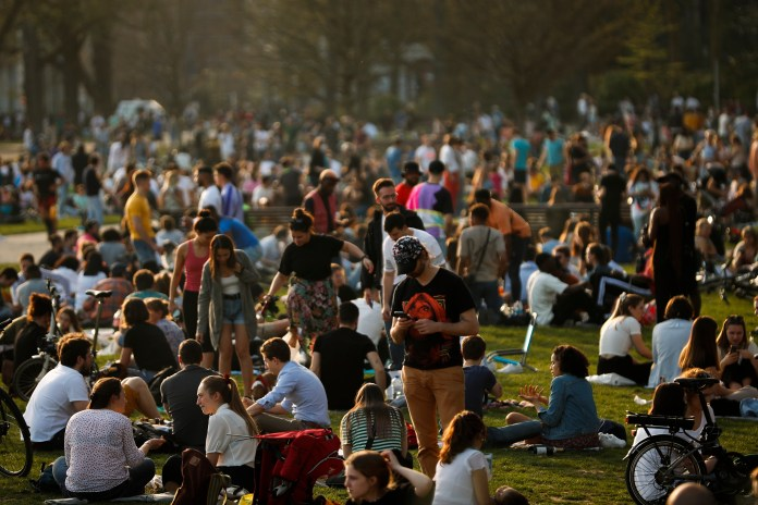 Temperatures reached 50-year-high for March